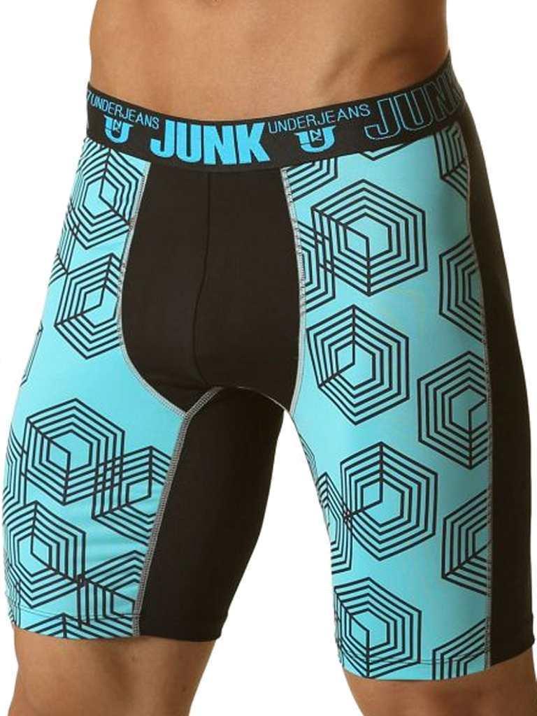 Comprar boxer jeans junk lencer a masculina sexy azul oferta for Ropa interior masculina