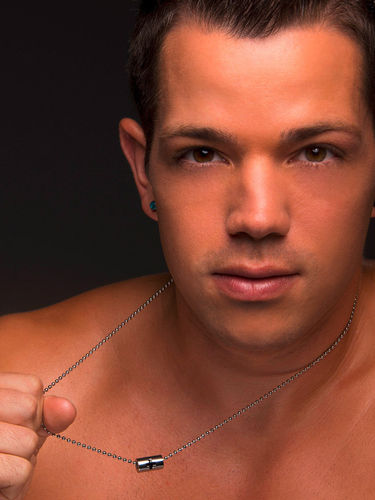 Collar para hombre Andrew Christian Cross Barrel