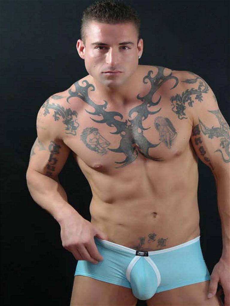 Ropa interior masculina sensual | Danny Miami Teal Blue
