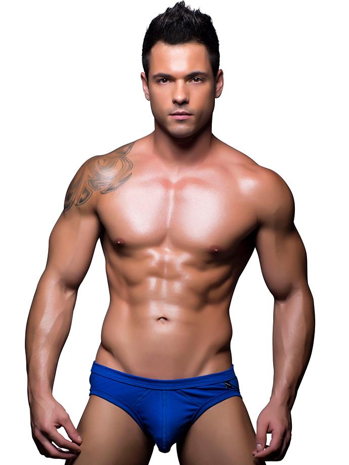 Ropa interior masculina andrew christian b sico azul - Ropa sexi masculina ...