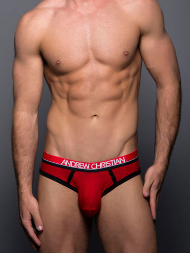 Andrew Christian Coolflex Rojo