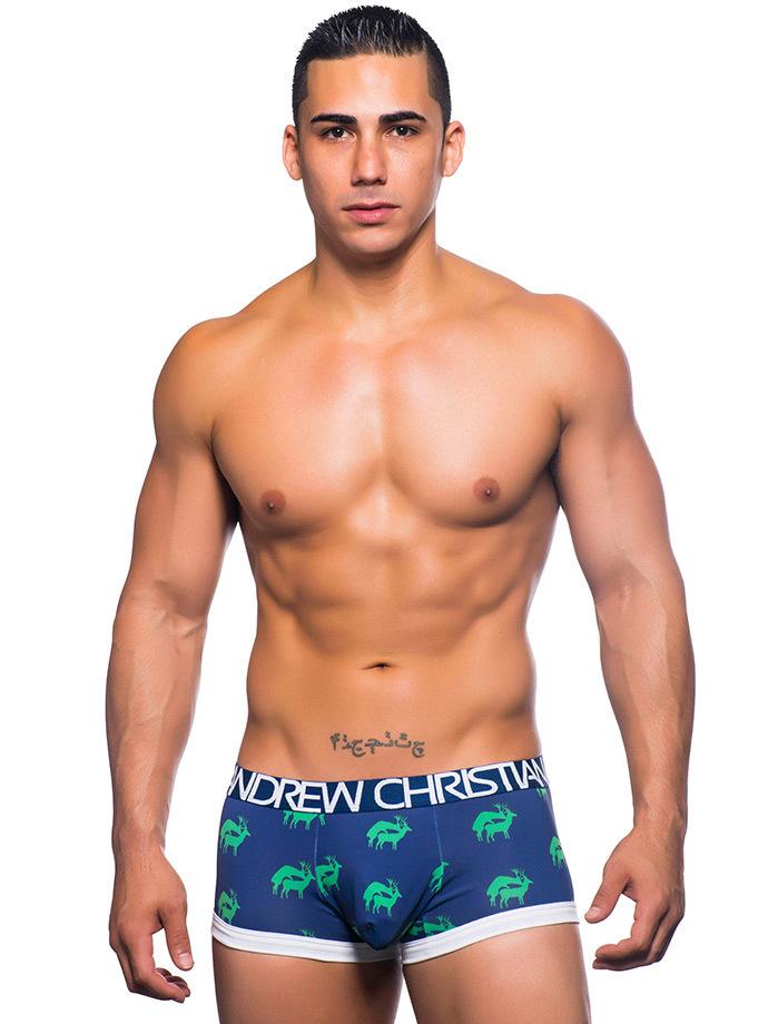 Andrew christian buck trunk ahora b xer nuevo elmejor for Chicas en ropa interior sexi