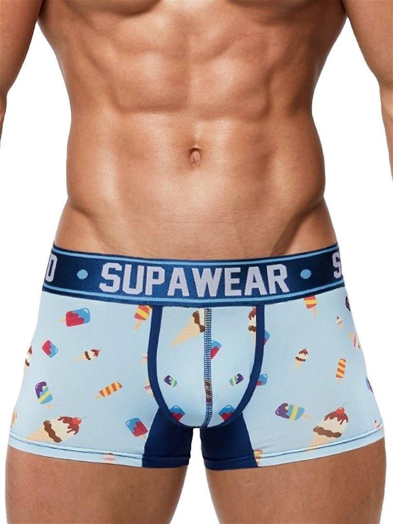 Supawear print trunk ropa interior hoy moda hombre for Chicas en ropa interior sexi